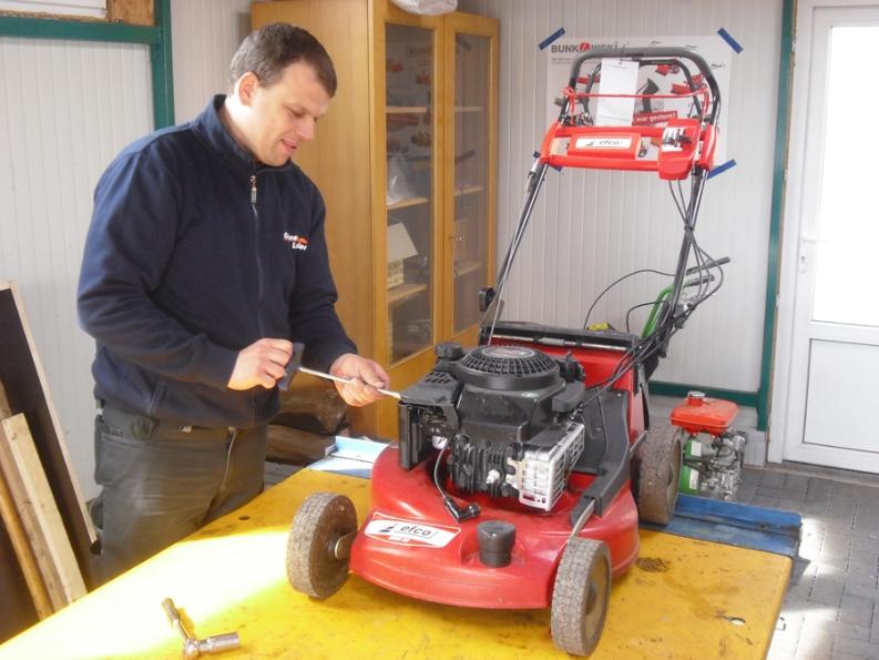 Unser Motorgeräte- und Werkzeug-Sortiment